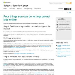 Web Security: Tips to Protect Kids Online