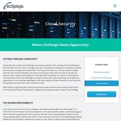 Cloud Security Service Provider In Canada