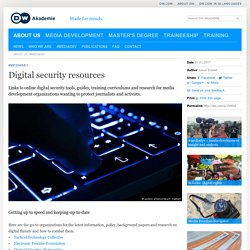 Digital security resources