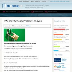 Are These 8 Website Security Holes Your Responsibility?
