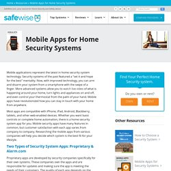Home Security System App Reviews: A Guide by SafeWise