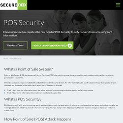 Secure your Point of Sale System Today