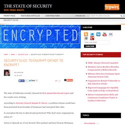 Security Slice: To Encrypt or Not to Encrypt?
