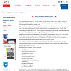 Network Security Solutions