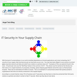 IT Security in Your Supply Chain - BSC Solutions Group Ltd.