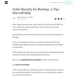 Legal Advice For Startups