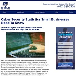 Cyber Security Statistics Small Businesses Need To Know