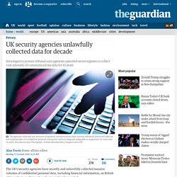 UK security agencies unlawfully collected data for 17 years, court rules