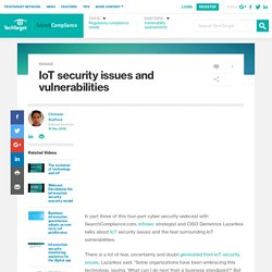 IoT security issues and vulnerabilities