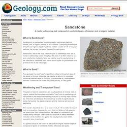 Sandstone: Sedimentary Rock - Pictures, Definition
