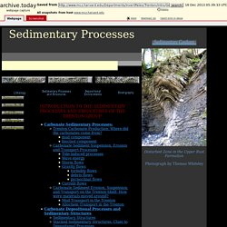 Sedimentary Processes and Structures