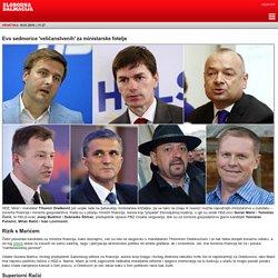 Slobodna Dalmacija: Evo sedmorice 'veličanstvenih' za ministarske fotelje