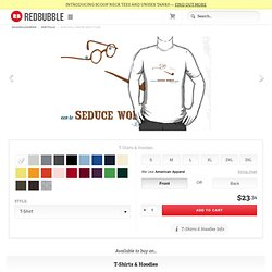 """Jean-Paul Sartre Seduction"" T-Shirts & Hoodies by deadphilosopher"