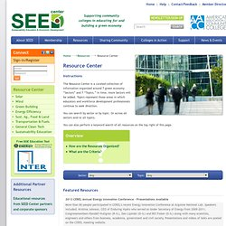 SEED - Resource Center