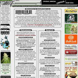 SeedFinder.eu :: Marijuana Strain Database | Search | Research