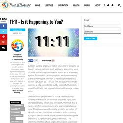 Seeing 11:11 Everywhere: Is It Happening to You?