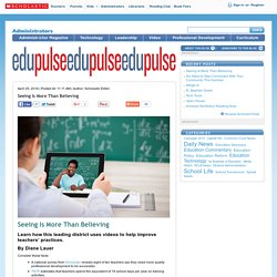 Seeing Is More Than Believing - edu Pulse