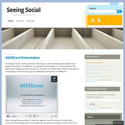 Seeing Social | a peak at social media