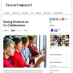 Seeing Students As Co-Collaborators