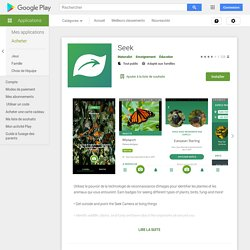 Seek – Applications sur GooglePlay