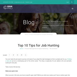 Tips For Job Seekers; A Complete Guide For Your Career