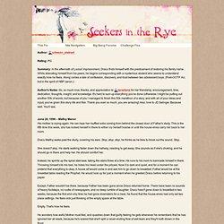 Seekers in the Rye