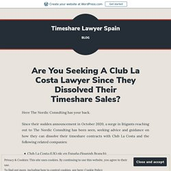 Connect With a Reputable Legal Firm to Get Rid Of Timeshare Contracts