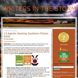 Agents Seeking Southern Fiction