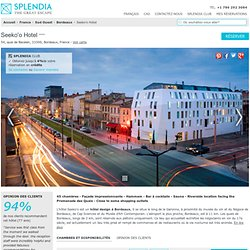 Seeko'o Hôtel à Bordeaux, France | Splendia Hôtels