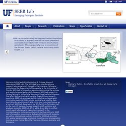 Spatial Epidemiology & Ecology Research Laboratory (SEER Lab)