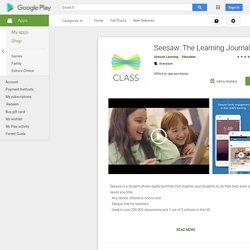 Seesaw Classroom BETA- e-portfooliote loomise keskkond (