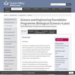 SEFP (Biological Sciences 4 year)