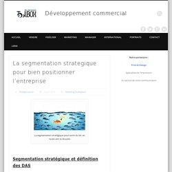 La segmentation strategique pour bien positionner l'entreprise - Développement commercial