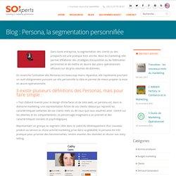 Persona, la segmentation personnifiée