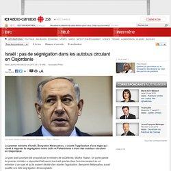 Israël : pas de ségrégation dans les autobus circulant en Cisjordanie