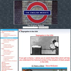 4. Segregation in the USA - The English Website