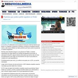 15 prácticas que ayudan a perder seguidores en Twitter
