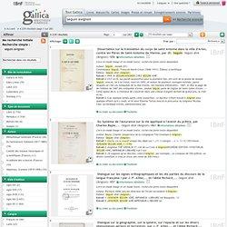 seguin avignon - 3886 résultats sur Gallica