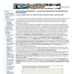 5. EL ARTE DE LA SEGUNDA MITAD DEL SIGLO XX - eraselahistoria2