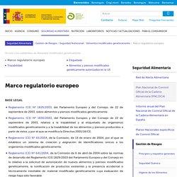 Aecosan - Agencia Española de Consumo, Seguridad Alimentaria y Nutrición