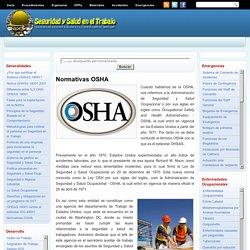 Seguridad y Salud en el Trabajo: Normativas OSHA