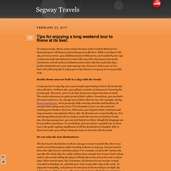 Segway Travels