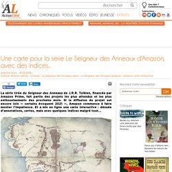 Une carte pour la série Le Seigneur des Anneaux d'Amazon, avec des indices...
