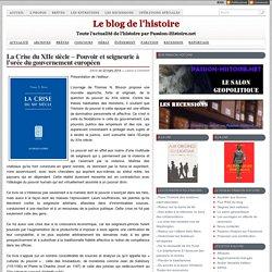 La Crise du XIIe siècle – Pouvoir et seigneurie à l'orée du gouvernement européen