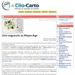 Une seigneurie au Moyen-Age - Clio-Carto