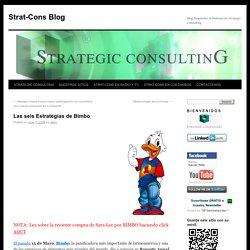 Las seis Estrategias de Bimbo
