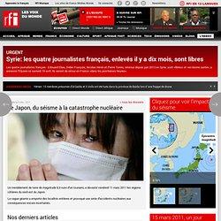 Le Japon, du séisme à la catastrophe nucléaire