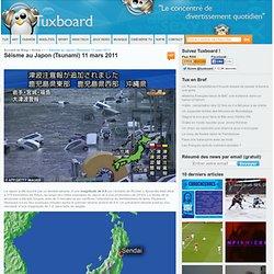 Séisme au Japon (Tsunami) 11 mars 2011