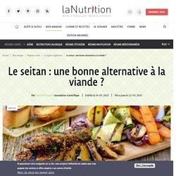 19-22 mars 2021 Le seitan : une bonne alternative à la viande ?