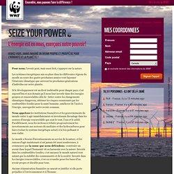 SEIZE YOUR POWER L'énergie est en nous, exerçons notre pouvoir !